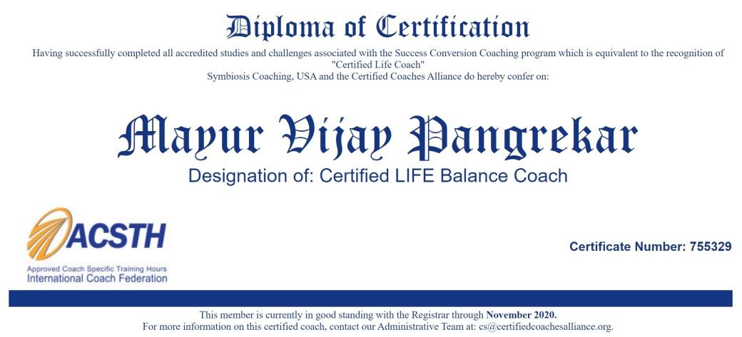 106-Certified life coach CCA certificate full screen
